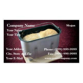 Bread maker business card