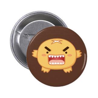 Bread Monster 2 Inch Round Button
