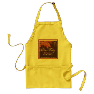 "Bread & Nuts ""Cin-fully Delicious""  Apron"