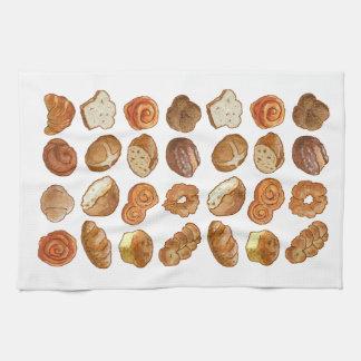 """Bread Pattern Kitchen Towel 16"""" x 24"""""""