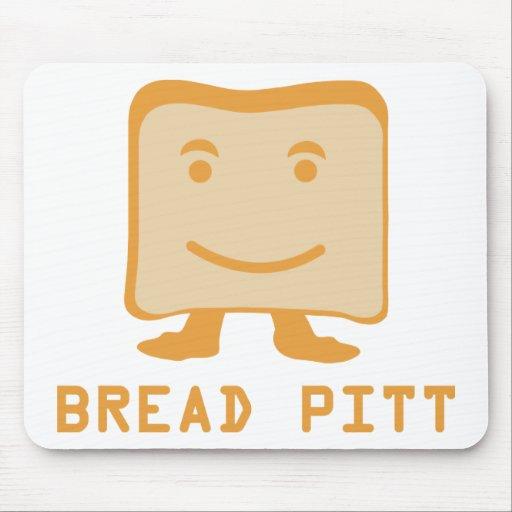 bread pitt mouse mat