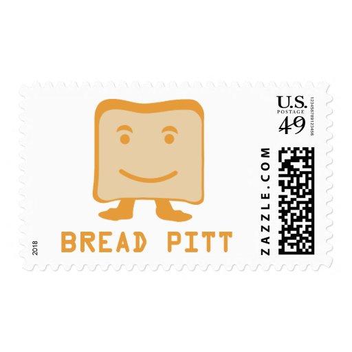bread pitt postage stamp