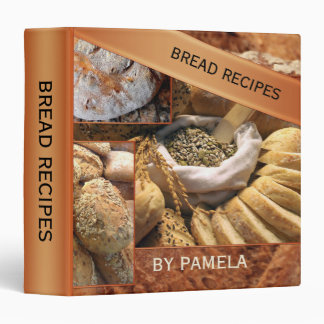 Bread Recipe Binder