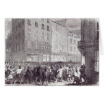 Bread Riot, in the Rue du Faubourg St. Antoine Card