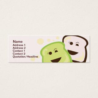 Bread - Skinny Mini Business Card