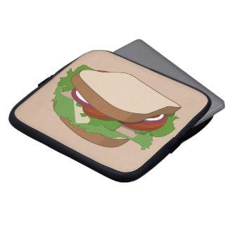 Bread snack computer sleeve