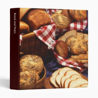 Bread still life 3 ring binders