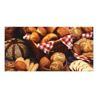 Bread still life card