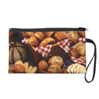 Bread still life wristlet
