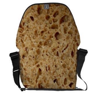 Bread texture bolsas de mensajería