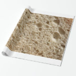 Bread texture gift wrap