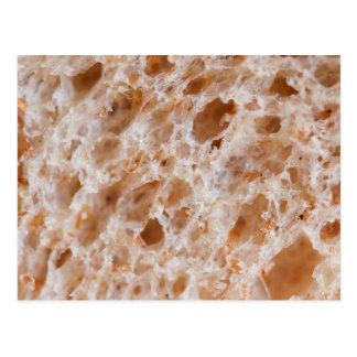 Bread Texture Postcard