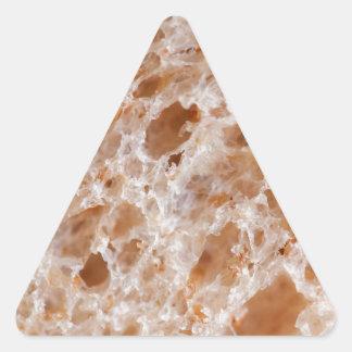 Bread Texture Triangle Sticker