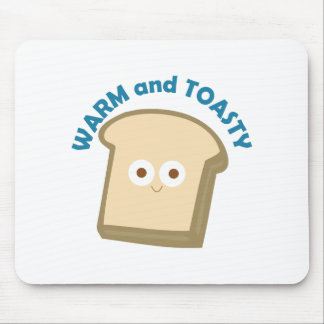 bread warm and toasty mouse pad