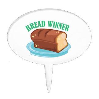 Bread Winner Cake Topper