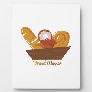 Bread Winner Display Plaque