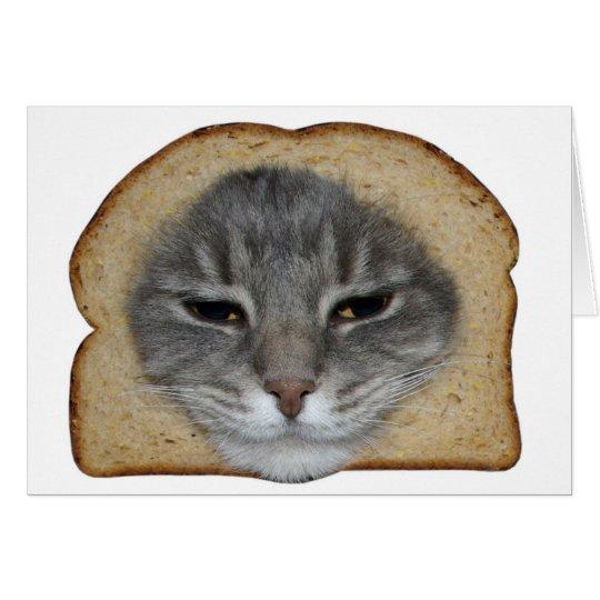 Breaded Cat Card