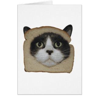 Breaded Inbread Cat Breading Card