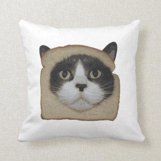 Breaded Inbread Cat Breading Pillow