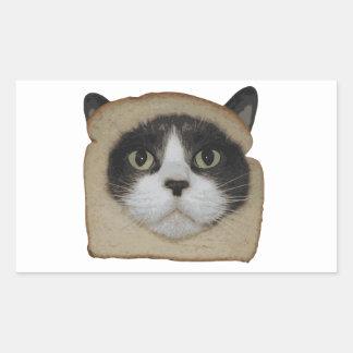 Breaded Inbread Cat Breading Rectangular Sticker