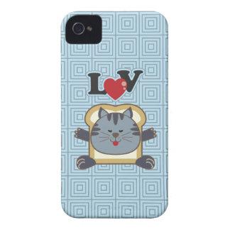 Breading Cat Blue iPhone 4 Case