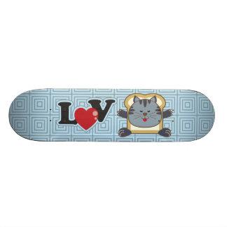 Breading Cat Blue Skateboard