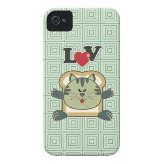 Breading Cat Green Blackberry Case