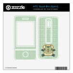 Breading Cat Green HTC Touch Pro Skin