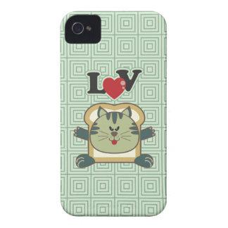 Breading Cat Green iPhone 4 Case