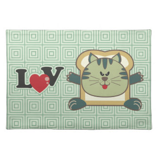Breading Cat Green Placemat