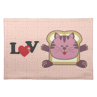 Breading Cat Pink Placemat