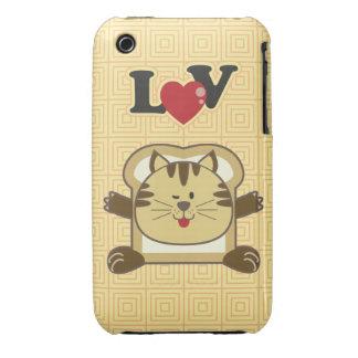 Breading Cat Yellow iPhone 3 Case