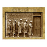Breadline Sculpture, FDR Memorial, DC Postcards