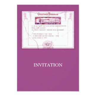 Break a Leg Invitation