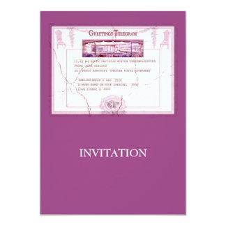 """Break a Leg Invitation 5"""" X 7"""" Invitation Card"""