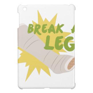 Break A Leg iPad Mini Cover