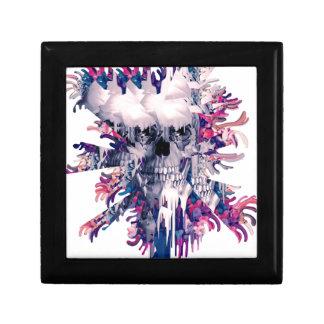 Break Away Floral Splash Skull Gift Box