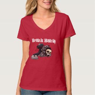Break Beats Basshead Skull T-Shirt