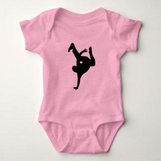Break dance baby bodysuit