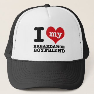 Break dance gift items for lovers of the dance trucker hat