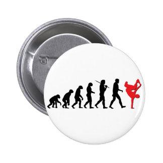 Break dance pin redondo de 2 pulgadas