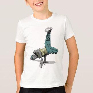 break dance pose 1 kids T-Shirt
