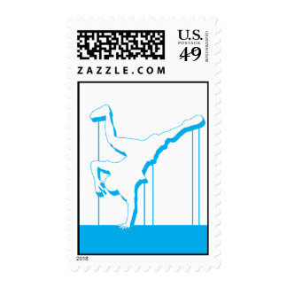 Break Dancer Stamp