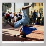 Break Dancer, San Francisco Poster