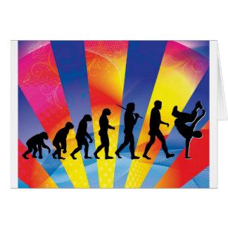 Break Dancing Card