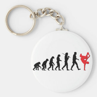 Break Dancing Keychain