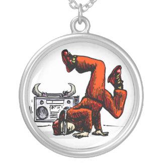 Break Dancing  Necklace