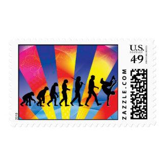 Break Dancing stamps