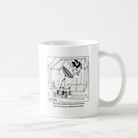 Break Down & Buy A Ladder Coffee Mug
