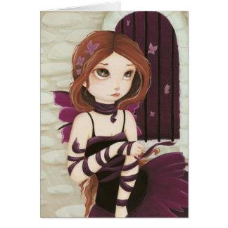 Break Free - Fairy butterfly card
